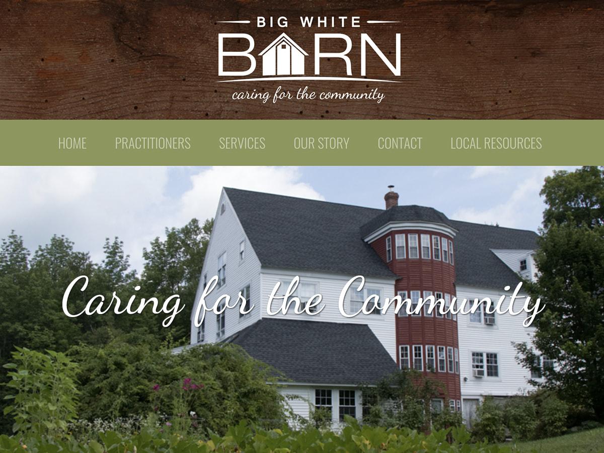 Big White Barn Maine